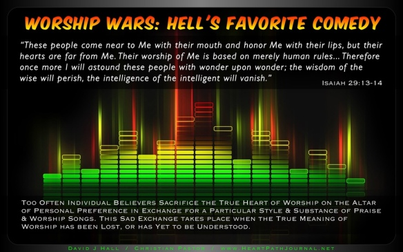 Worship Wars: Hell's Favorite Comedy   Heart & Path Journal